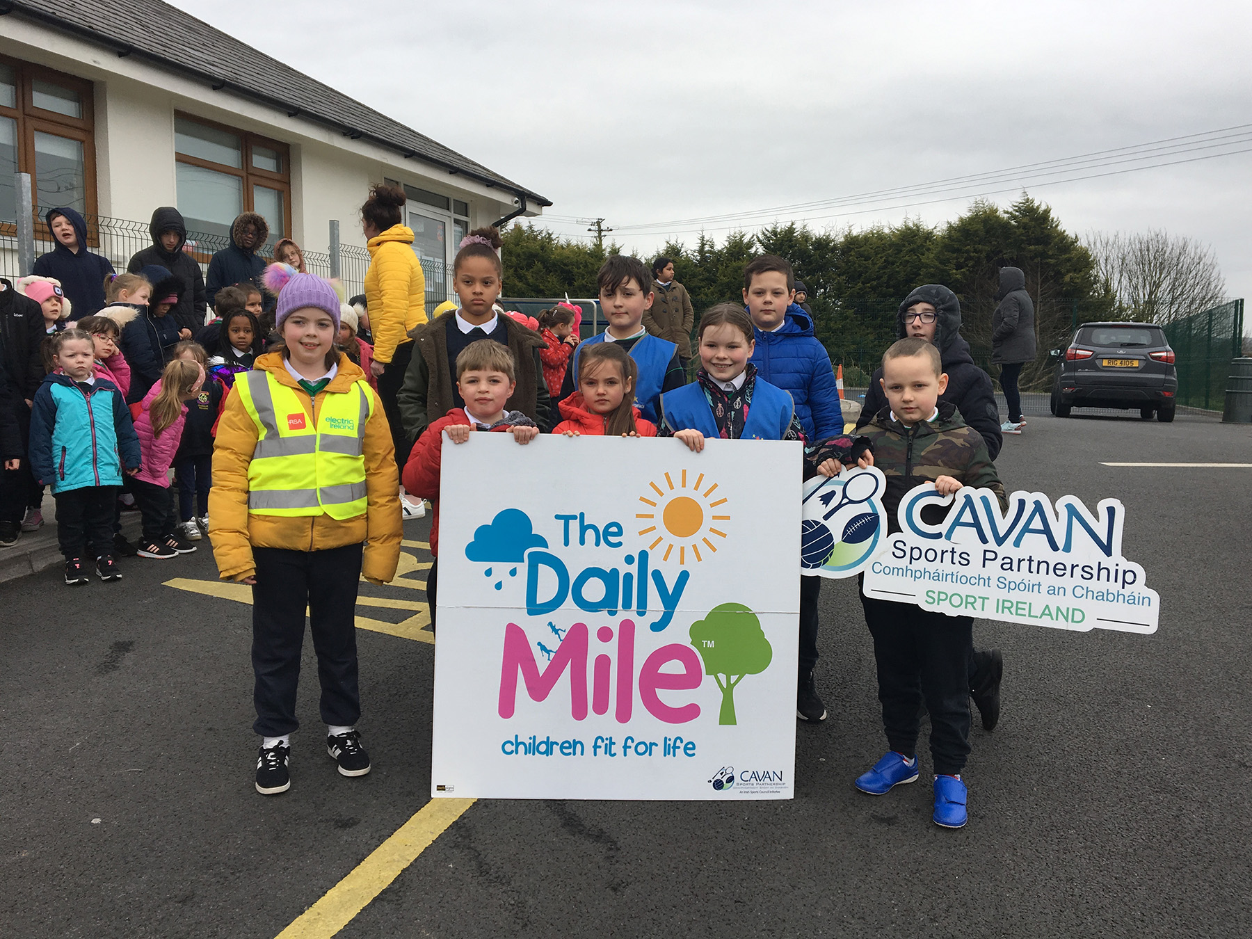 The Daily Mile   Gaelscoil Bhréifne