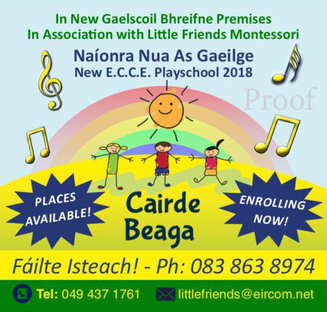 Cairde Beaga Image | Gaelscoil Bhréifne